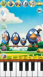 Скриншот Говоря Птицы на проводе