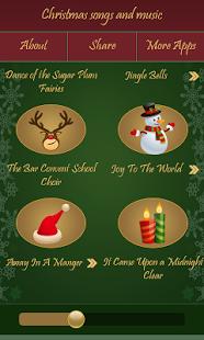 Скриншот Рождественские песни и музыка
