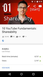 Скриншот Творческая студия YouTube
