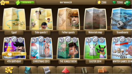 Скриншот Diggy's Adventure
