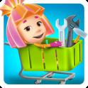 Фиксики Супермаркет Игра: Детские Игры Гипермаркет
