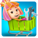 Фиксики Супермаркет Игра: Детские Игры Гипермаркет android