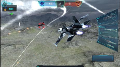 Скриншот Air Combat : Sky fighter