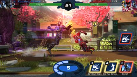 Скриншот Power Rangers: Legacy Wars