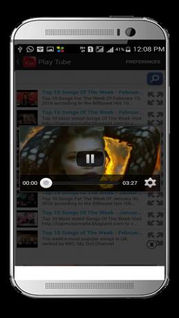 Скриншот HD Video Tube 1