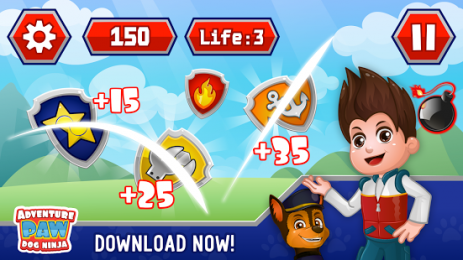 Скриншот Adventure paw ninja patrol