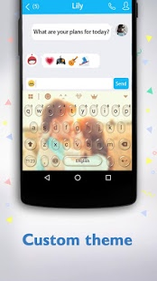 Скриншот Boto клавиатура