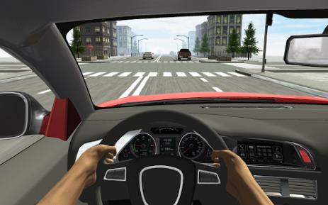 Скриншот Racing in Car