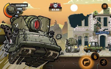 Скриншот Metal Soldiers 2