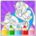 «Beauty Princess Coloring Games» на Андроид