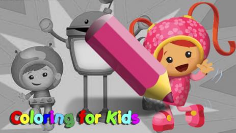 Скриншот Coloring kids for umizoomi