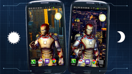 Iron Man 3 Live Wallpaper 128 Download On Android Free Captain Droid