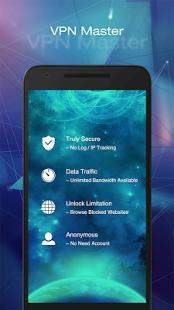 Скриншот VPN Master – Free VPN Proxy