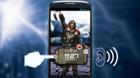 Скриншот Thor: The Dark World LWP