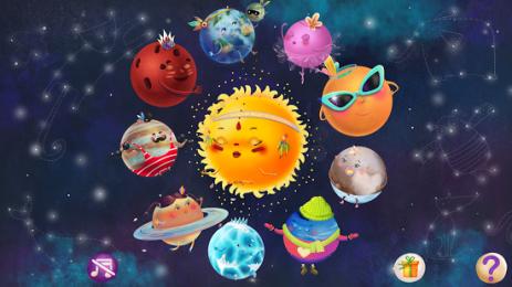 Скриншот Lil Space - тайны космоса.