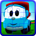 Leva cartoons puzzle game