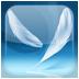 Падающее перо – живые обои - icon