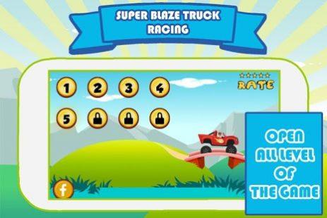 Скриншот Super Blaze : Truck Racing