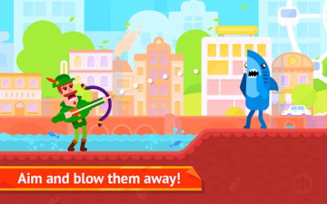 Скриншот Bowmasters