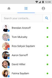 Скриншот Messenger Lite: бесплатные звонки и сообщения