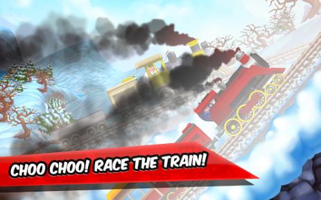 Скриншот Веселые гонки для детей на поездах