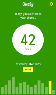 Скриншот Checky – Phone Habit Tracker