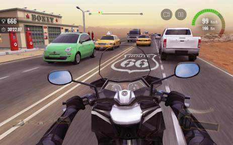 Скриншот Moto Traffic Race 2