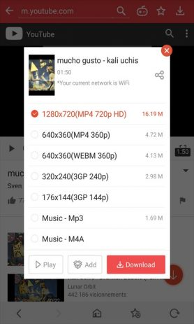 Скриншот Vidmate – HD Video Downloader & Live TV
