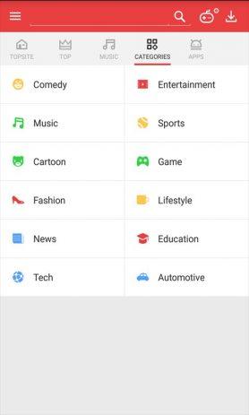 Скриншот Vidmate — HD Video Downloader & Live TV