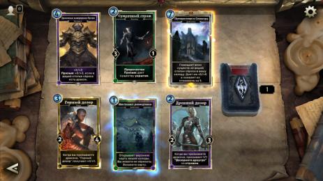 Скриншот The Elder Scrolls: Legends™- Heroes of Skyrim