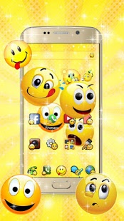 Скриншот Emoji Smile Cute Theme