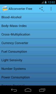 Скриншот All Converter FREE