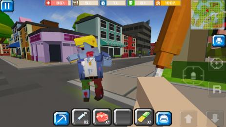 Скриншот CUBE Z