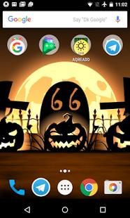 Screenshot Of Halloween Live Wallpaper