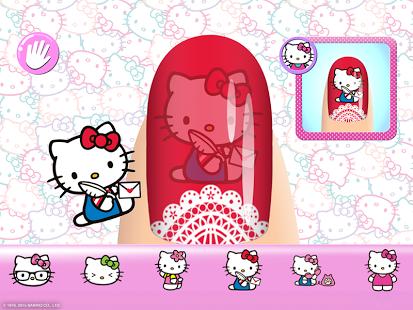 Скриншот Маникюрный салон Hello Kitty