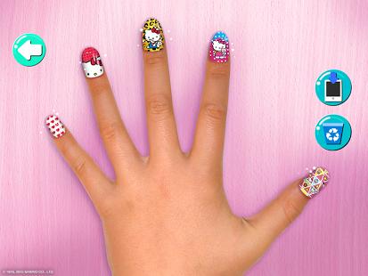 Маникюрный салон Hello Kitty | Android