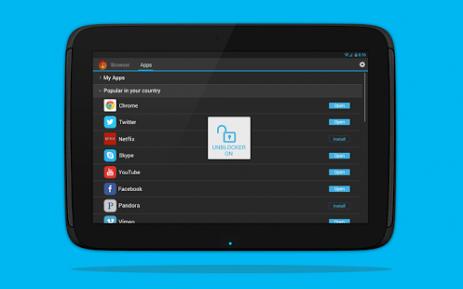 Скриншот Hola Бесплатный VPN