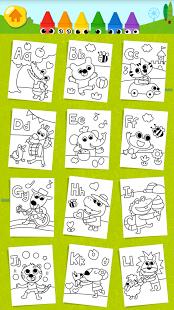 Скриншот Веселые детские раскраски