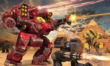 Скриншот Clash of Mech Robots