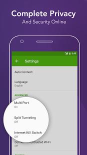 Скриншот PureVPN – Best Free VPN