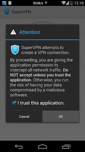 Скриншот SuperVPN Free VPN Client 1