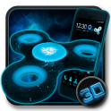 Fidget Spinner Space 3D тема android mobile