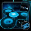 Fidget Spinner Space 3D тема