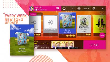 Скриншот SuperStar SMTOWN 0