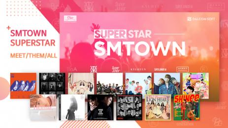 Скриншот SuperStar SMTOWN 1