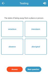Скриншот 5000 IELTS основные слова