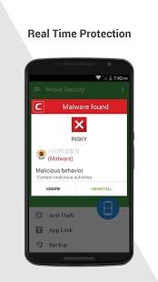 Скриншот Comodo Mobile Security