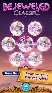 Скриншот Bejeweled Classic