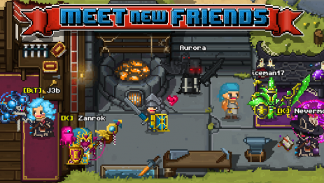Скриншот Bit Heroes