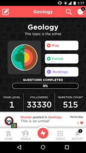 Скриншот QuizUp